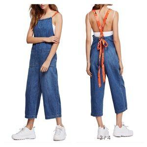 fp jumpsuit linen blend